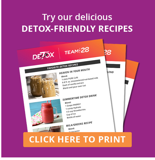 7 Day Detox | PURE | People United Reaching Everyone